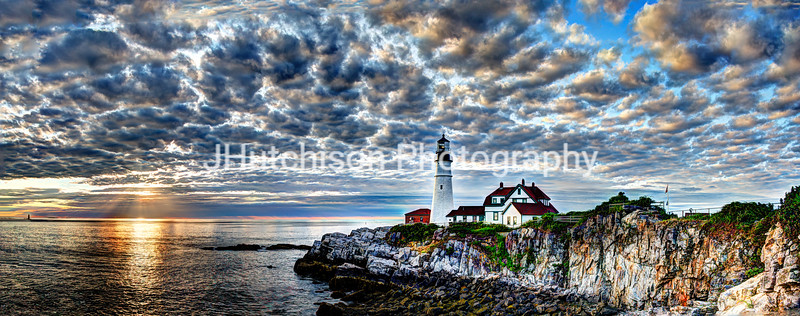 Dawn Breaks at Portland Head Light