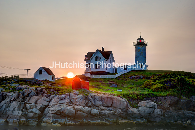 Dawn at Nubble Light