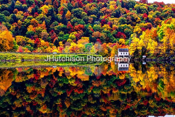 Vermont Autumn Reflections