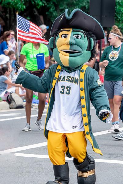 Geroge Mason Mascot