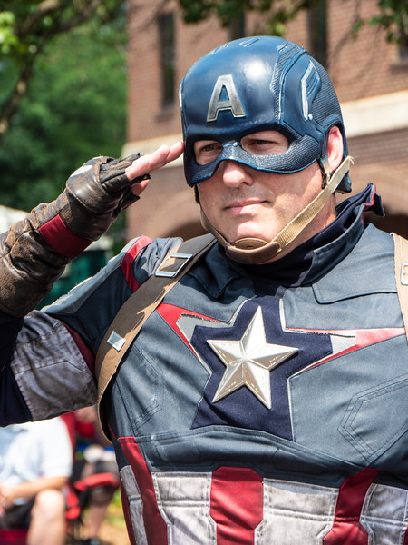 Captain America's July 4th Salute