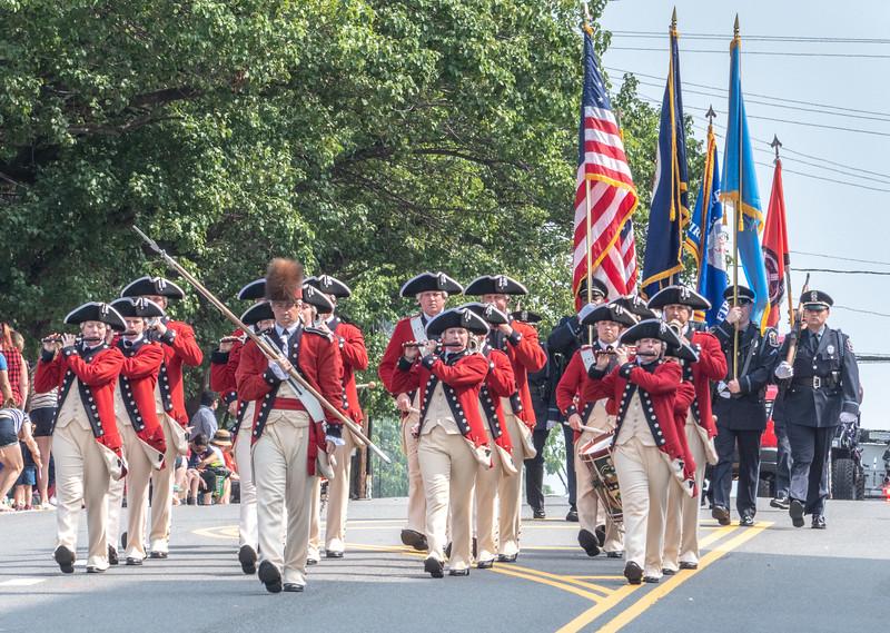 Revolutionary Band & Honor Guards