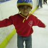 Alex on skates 2009