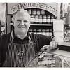 Tim Wood of Woods Butchers. Bridgend Rhiw Market - 2016