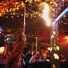 MOLDOVA. Transdniester. 2004. Stripper in a nightclub.