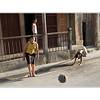 Soccer game gathering in Sun Diego De Cuba