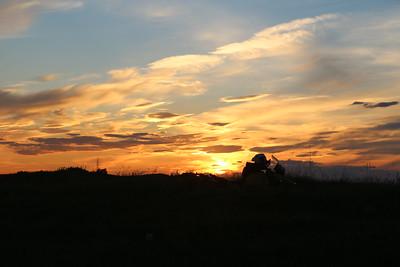 Sunset Theodore Roosevelt NP.
