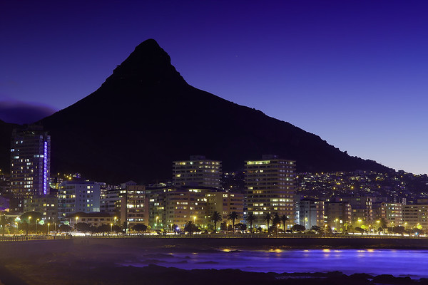 Sea Point with Lion's Head