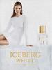 ICEBERG White 2013 Italy 'The new fragrance for women'