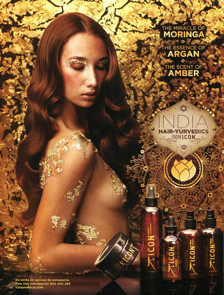 ICON India Hair-Yurvedics 2011 Spain <br /> 'The Miracle of Moringa - The Essence of Argan - The Scent of Amber'