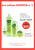 INSTITUTO ESPAÑOL Aloe Vera Sávila 2010 Spain (Passion Beauté stores) (text in Catalan) 'Les millors ofertes a PB'
