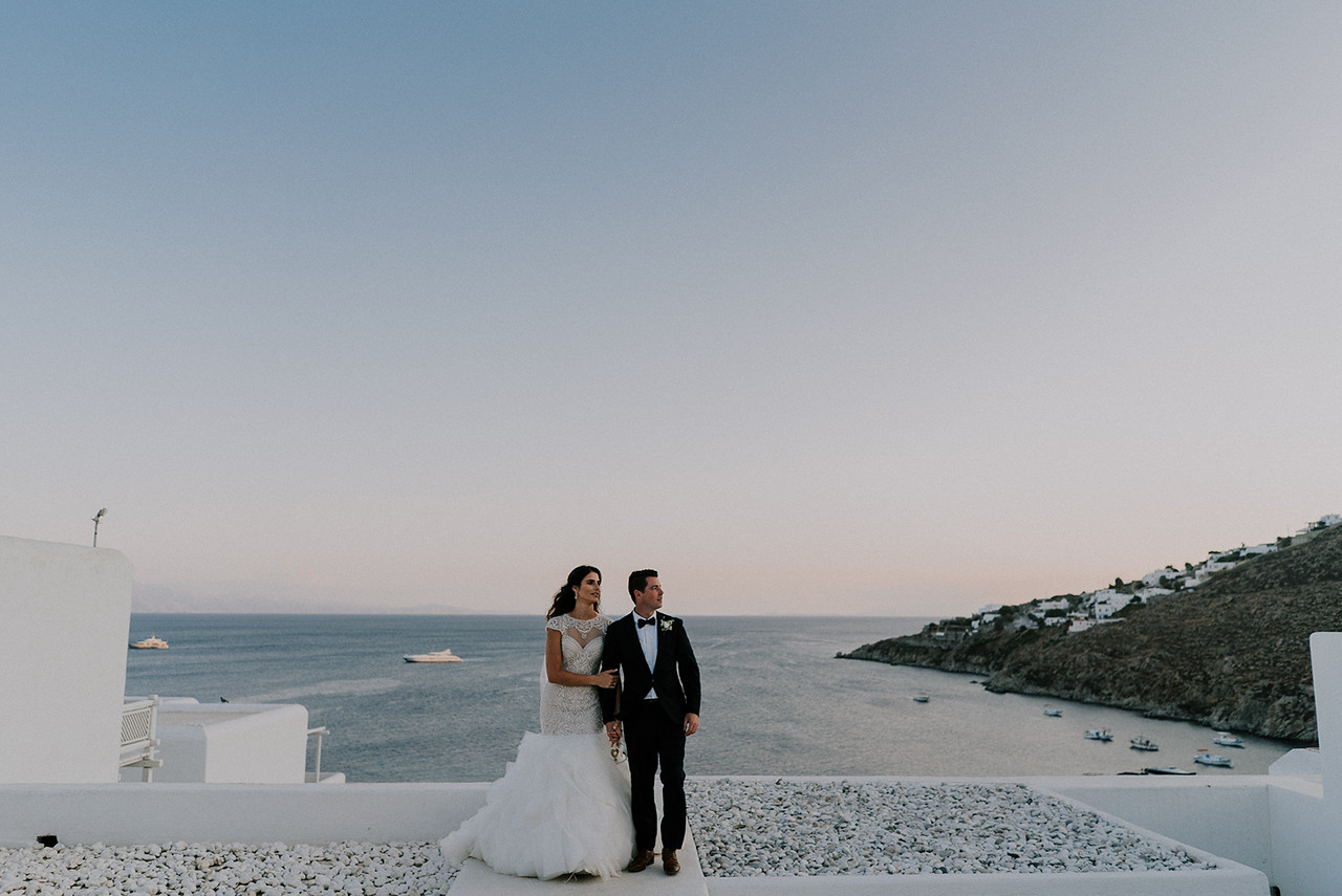Wedding in Tinos