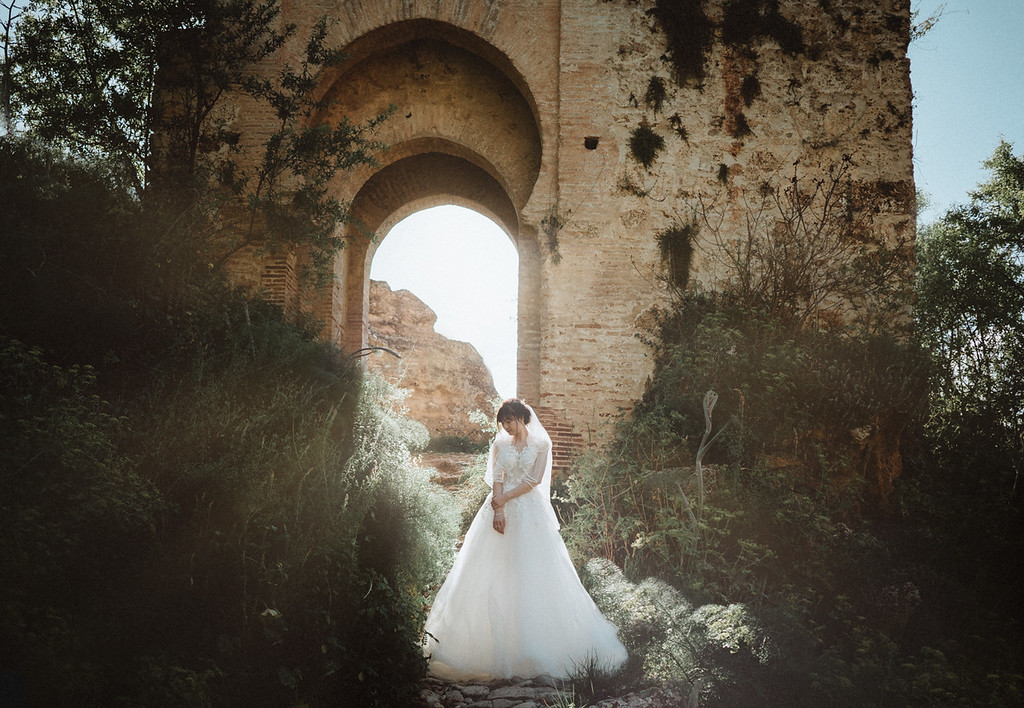 Intimate Wedding in Malaga Andalucia
