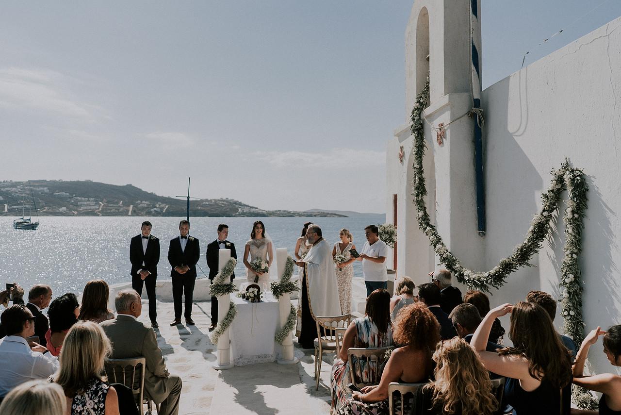 Wedding in Lipsi