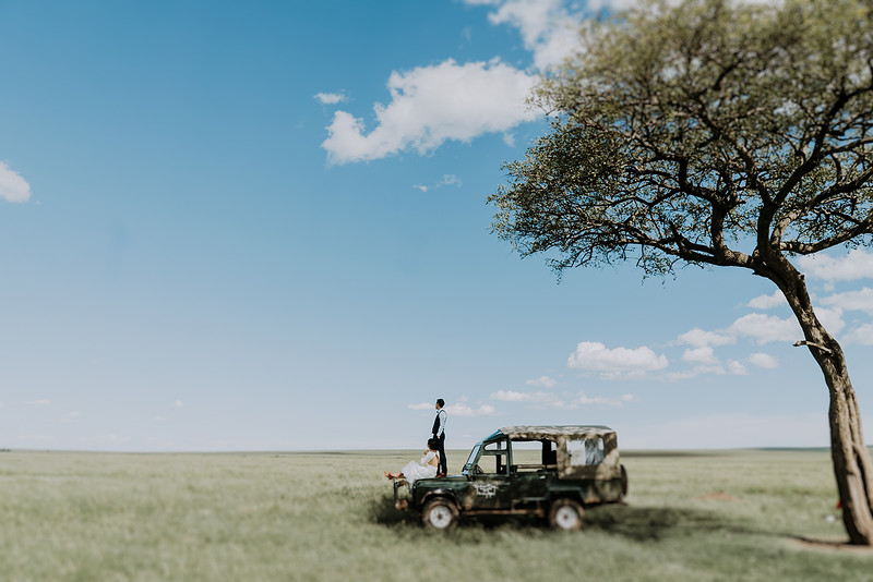 Elopement Wedding in Tanzania