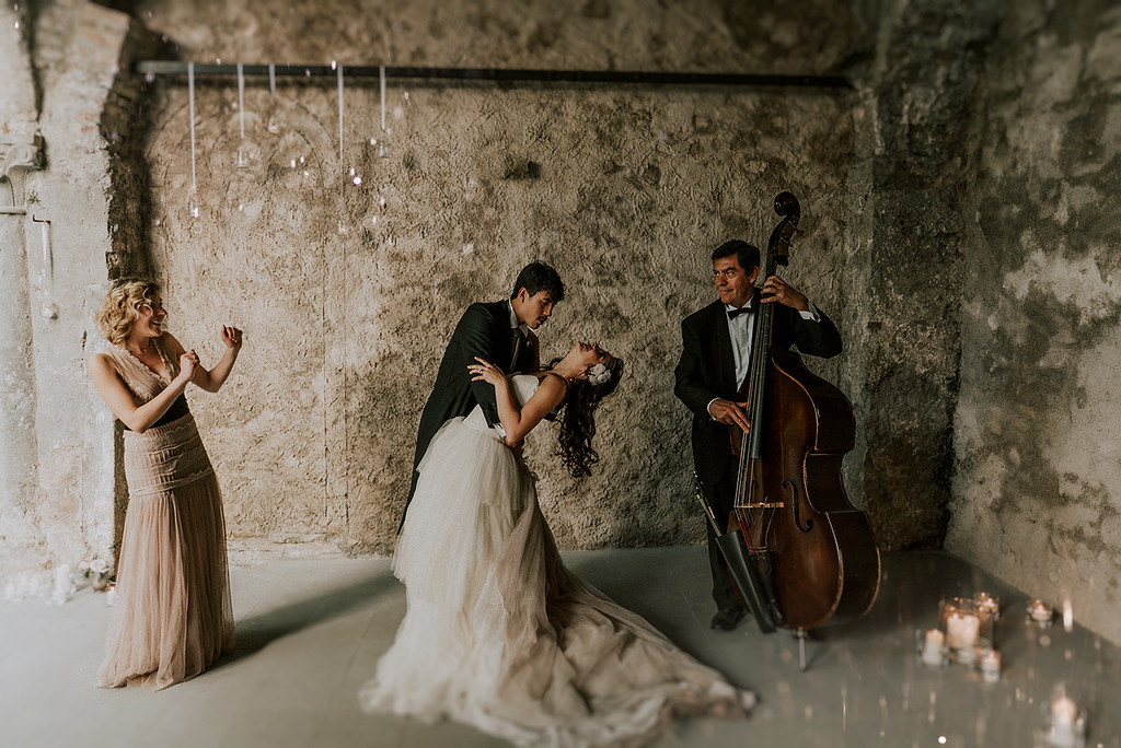 Destination Elegant Wedding in Madrid, Spain
