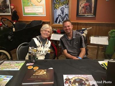 Jean Davidson and son Jon