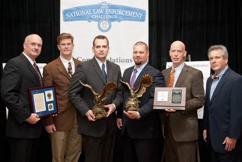 2011 Looking Beyond the License Plate Winners:<br> Corporal Timothy Clifford & Officer Andrew Nucelli<br>Arlington Country, Virginia, Police Department