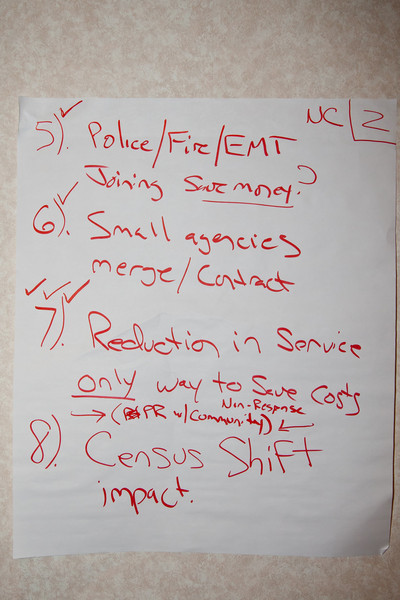 Noth Central Region Meeting Notes - 2011 IACP-SACOP Mid-Year Conference