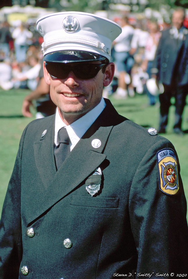 Captain (now Battalion Chief) Keith Buckmiller
