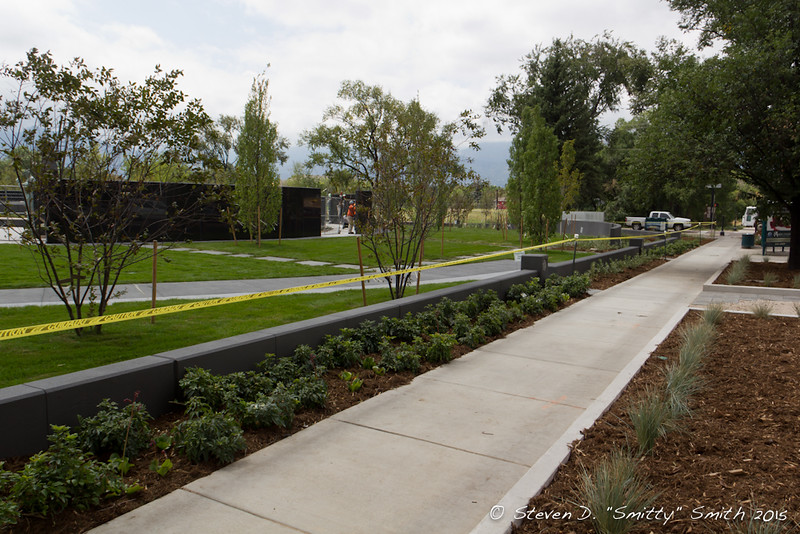 Day 192 - New sidewalks and landscaping along Pikes Peak Ave.