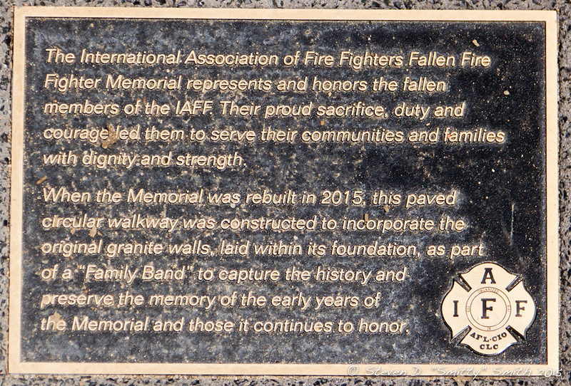 Day 169 - Plaque placed within the Family Band.