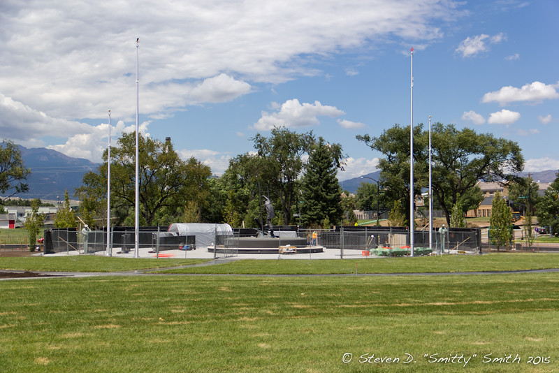 Day 173 - Overview of the Memorial, now with sod!