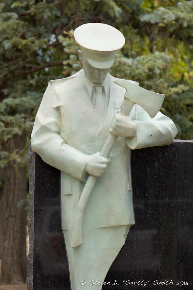 """Day 144 - Close up of one of the """"Sentinels"""" standing watch at the Memorial."""