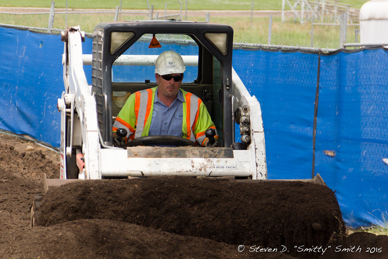 Day 150 - Getting a load of top soil for the landscaping.