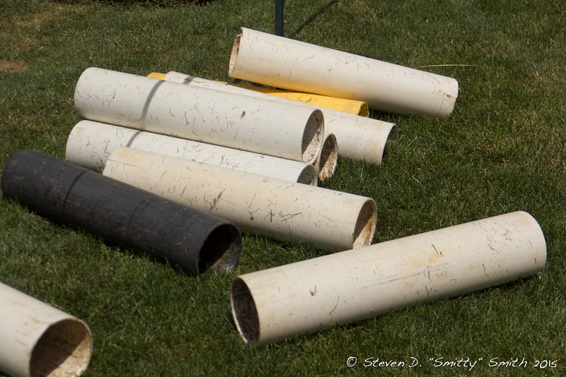 Day 169 - What's left of the rolls of sod.