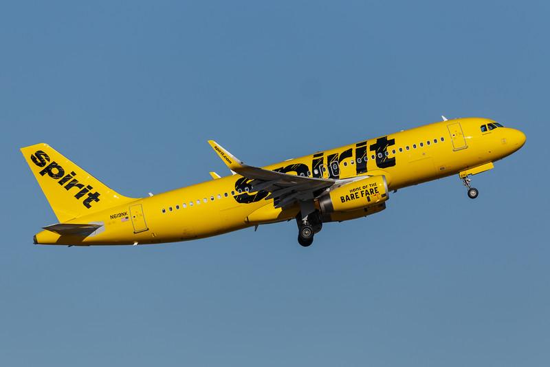 Spirit Airbus A320-200 | N619NK