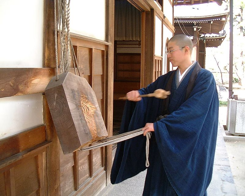 Rinzai ZEN Temple  in NAgoya<br /> February 2004<br /> Bessa R2  Heliar 50 mm- Fuji film 400