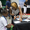 Indiana Black Expo IBE 2014.The College of Pharmacy display. ( Purdue University/ Mark Simons)