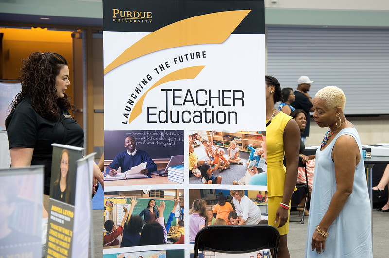 2015 Indiana Black Expo at the Indianapolis Convention Center and the Downtown Hyatt Regency (Purdue University/ Mark Simons)