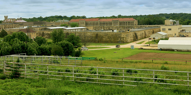 View of Anamosa State Penitentiary