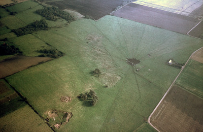Pangs mound, 1,2km southeast Brunnby Church | EE.1284