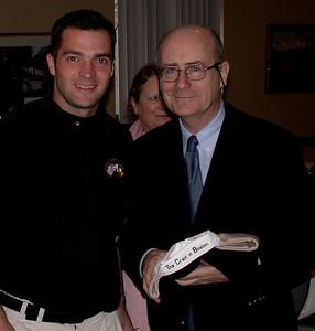 Irish Wolfehounds president and the Ambassador