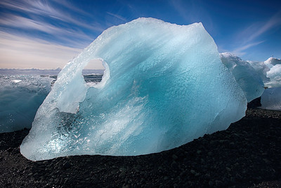 Jökulsárlón Lake in Iceland