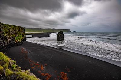RAINY DAY AT THE BLACK BEACH