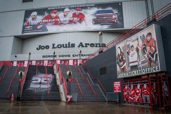 Joe Louis Arena - 25 Stanley Cup Playoffs