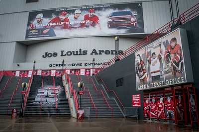 Joe Louis Arena - 25 Stanley Cup Playoffs