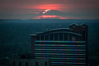Motor City Casino Sunset