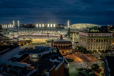 Detroit Sports At Night