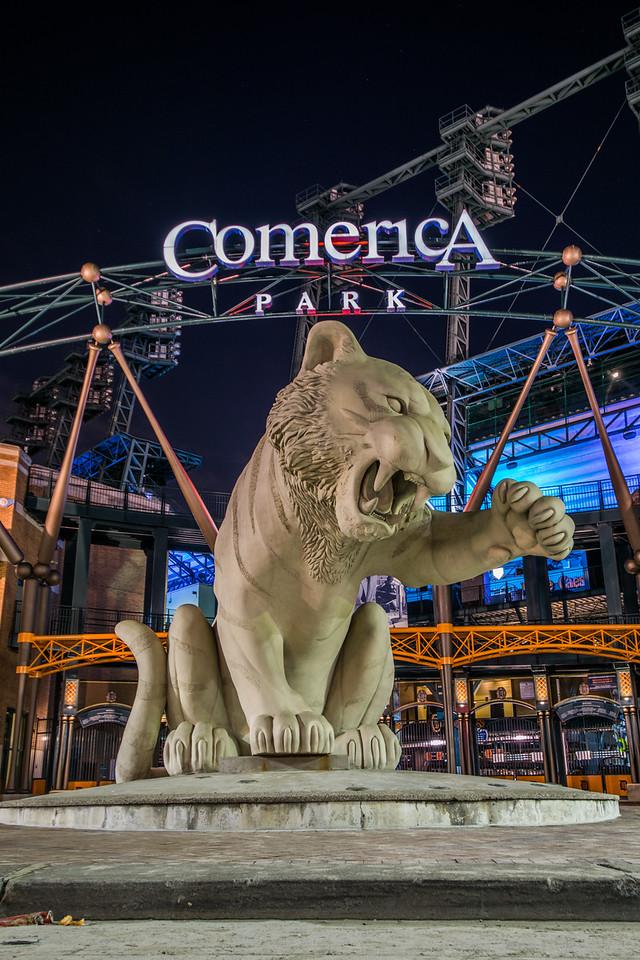 Comerica Park - Tiger