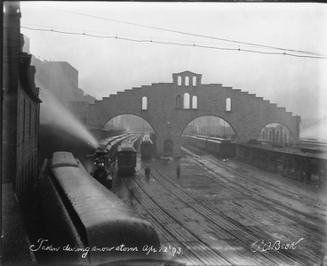 2010.030.PC03.08--lee hastman collection 8x10 print--ICRR--Co Photo view of Randolph Street station--Chicago IL--1893 0422