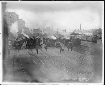 2010.030.PC03.09--lee hastman collection 8x10 print--ICRR--Co Photo view of Randolph Street station--Chicago IL--1897 0800