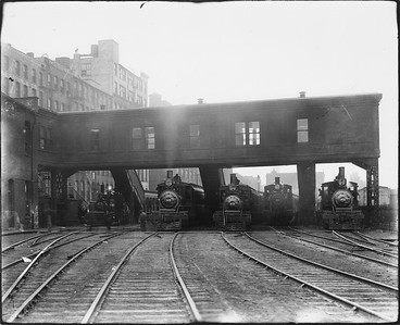 2010.030.PC03.11--lee hastman collection 8x10 print--ICRR--Co Photo view of Randolph Street station--Chicago IL--no date
