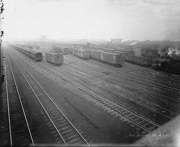 2010.030.PC02.16--lee hastman collection 8x10 print--ICRR--Co Photo view of South Water Street yards--Chicago IL--no date