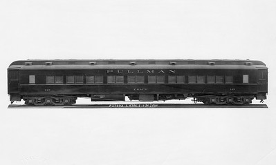 2010.030.PC22.17--lee hastman collection 8x10 print--ICRR--Co Photo view of Pullman coach 149--builders photo--1924 0613