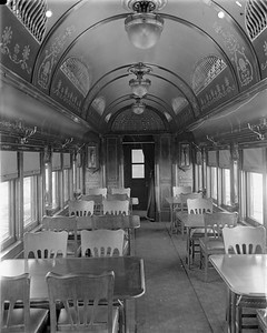 2010.030.PC22.26--lee hastman collection 8x10 print--ICRR--Co Photo view of wooden cafe-diner interior--builders photo--no date